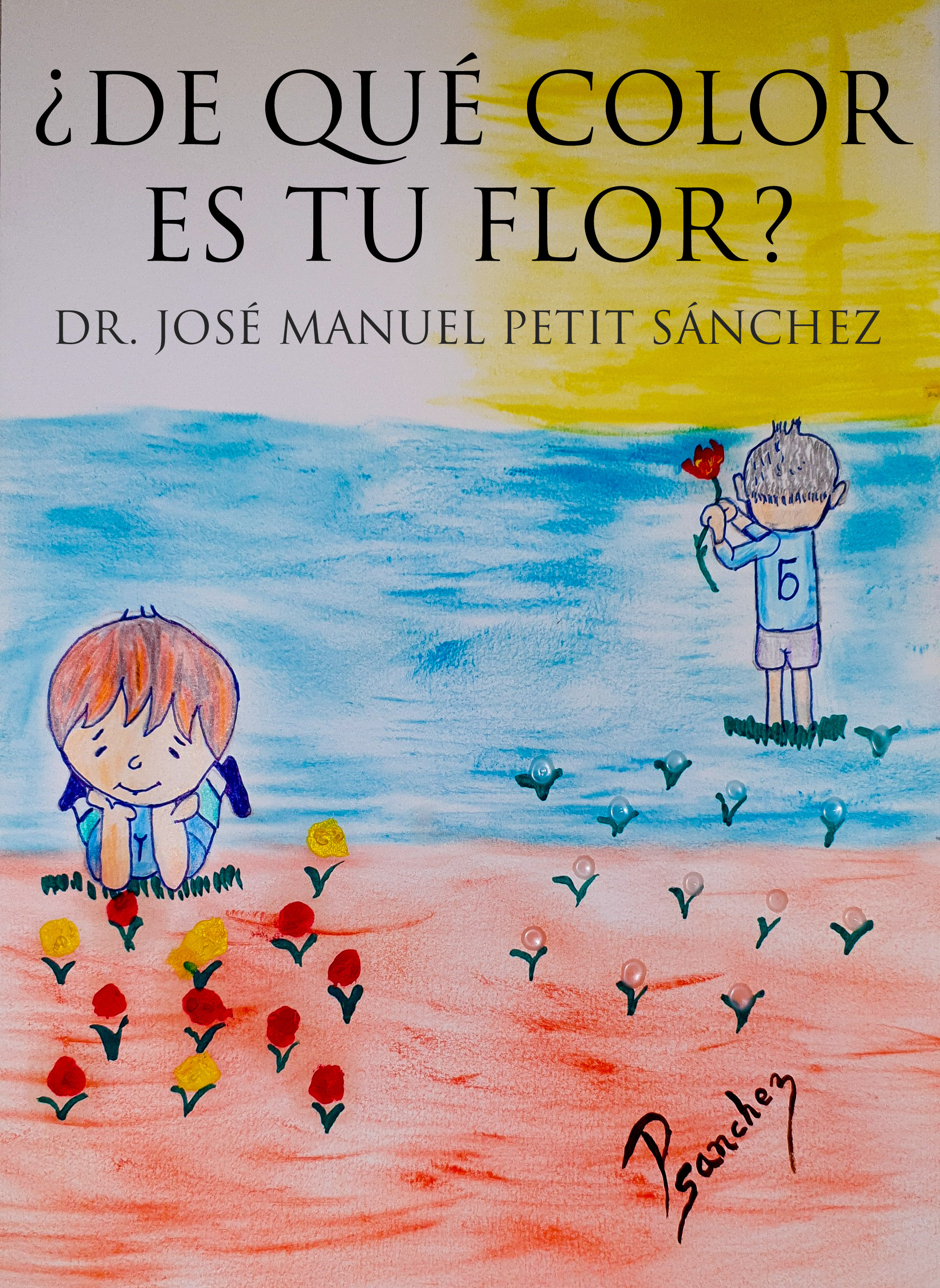 ¿De qué color es tu flor?